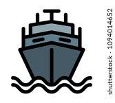 defence navy ship | Shutterstock .eps vector #1094014652