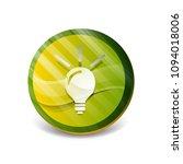 light bulb  new idea concept... | Shutterstock .eps vector #1094018006
