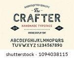 original handmade alphabet.... | Shutterstock .eps vector #1094038115