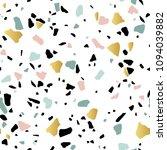 granite stone terrazzo floor... | Shutterstock .eps vector #1094039882