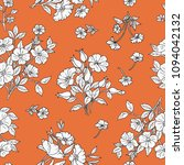 seamless floral pattern in... | Shutterstock .eps vector #1094042132