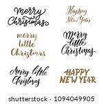 christmas greetings.... | Shutterstock .eps vector #1094049905
