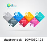 vector infographic label design ... | Shutterstock .eps vector #1094052428