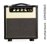 Black Vintage Guitar Aplifier ...