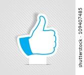 like symbol | Shutterstock .eps vector #109407485