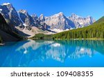 lake morraine  banff national... | Shutterstock . vector #109408355