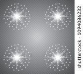 glowing lights effect  flare ... | Shutterstock .eps vector #1094086232