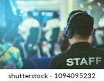 staff video production team.   Shutterstock . vector #1094095232