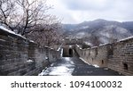 Great Wall Panorama In Spring...
