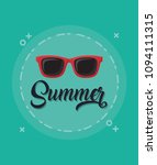 summer vacations design | Shutterstock .eps vector #1094111315