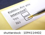 politics  are you interested ... | Shutterstock . vector #1094114402