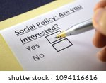 social policy  are you... | Shutterstock . vector #1094116616