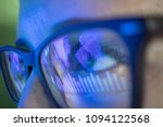 businesswoman in glasses  the... | Shutterstock . vector #1094122568