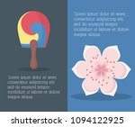 south korea infographic design | Shutterstock .eps vector #1094122925