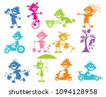 vector illustration of set of... | Shutterstock .eps vector #1094128958