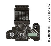 photographic camera device... | Shutterstock .eps vector #1094164142