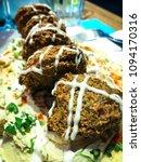 Small photo of lebanese falafel dish