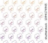 trees pattern design   Shutterstock .eps vector #1094174945
