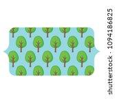 trees pattern design   Shutterstock .eps vector #1094186825
