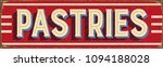 vintage style vector metal sign ... | Shutterstock .eps vector #1094188028