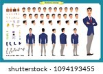 people character business set.... | Shutterstock .eps vector #1094193455