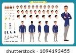 people character business set.... | Shutterstock .eps vector #1094193455