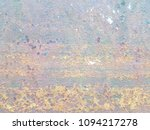 rusted steel plate. the rusted... | Shutterstock . vector #1094217278