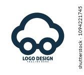 cloud car logo | Shutterstock .eps vector #1094221745