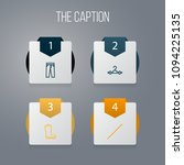 icon line clothes set of... | Shutterstock .eps vector #1094225135