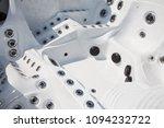 closeup look of an empty health ... | Shutterstock . vector #1094232722
