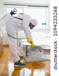 exterminator in work wear... | Shutterstock . vector #1094233268