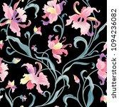 floral seamless pattern. flower ... | Shutterstock .eps vector #1094236082
