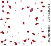 abstract flower petals confetti ... | Shutterstock .eps vector #1094236085