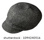 fashion hat  with  visor... | Shutterstock . vector #1094240516