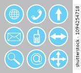 vector illustration web icon...   Shutterstock .eps vector #1094254718