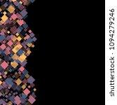 rhombus cosmic minimal... | Shutterstock .eps vector #1094279246