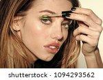 high fashion portrait of...   Shutterstock . vector #1094293562