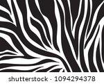 zebra pattern. vector background | Shutterstock .eps vector #1094294378