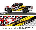 truck wrap design vector.... | Shutterstock .eps vector #1094307515