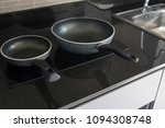 pan on induction cooker | Shutterstock . vector #1094308748