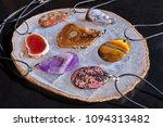 a set of coulombs of polished... | Shutterstock . vector #1094313482