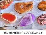a set of coulombs of polished... | Shutterstock . vector #1094313485