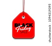 red discount tag vector... | Shutterstock .eps vector #1094319395