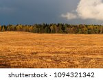 golden field in the background... | Shutterstock . vector #1094321342