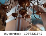 beautiful chandelier in the... | Shutterstock . vector #1094321942