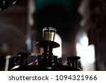 special stand for wax candles... | Shutterstock . vector #1094321966
