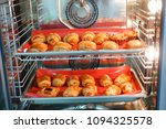 french sweet pastries in a... | Shutterstock . vector #1094325578