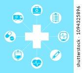 health care icon illustration... | Shutterstock .eps vector #1094325896