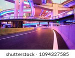the purple blue led landscape... | Shutterstock . vector #1094327585