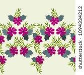 gorgeous border in small garden ... | Shutterstock . vector #1094334212